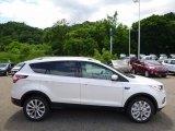 2017 White Platinum Ford Escape Titanium 4WD #113563535