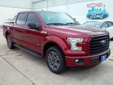 2016 Ruby Red Ford F150 XLT SuperCrew #113563478