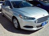 2016 Ingot Silver Metallic Ford Fusion SE #113563476