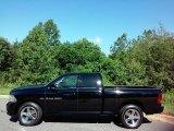 2012 Black Dodge Ram 1500 Sport Quad Cab 4x4 #113563376