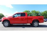 2016 Race Red Ford F150 XLT SuperCab 4x4 #113563581