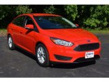 2015 Race Red Ford Focus SE Sedan #113563679