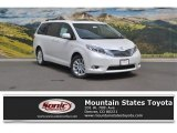 2016 Blizzard Pearl Toyota Sienna Limited AWD #113563406