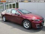 2016 Butte Red Metallic Chevrolet Malibu LS #113563472