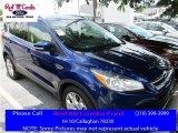 2016 Deep Impact Blue Metallic Ford Escape Titanium #113563503