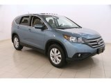 2014 Mountain Air Metallic Honda CR-V EX AWD #113563700