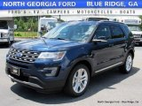 2016 Blue Jeans Metallic Ford Explorer XLT 4WD #113563348