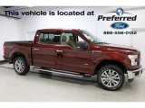 2016 Bronze Fire Ford F150 XLT SuperCrew 4x4 #113563293