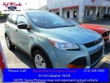 2013 Frosted Glass Metallic Ford Escape S #113589914