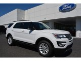 2016 Oxford White Ford Explorer XLT #113589970