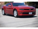 2014 Crystal Red Tintcoat Chevrolet Camaro LS Coupe #113589994