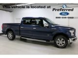 2016 Blue Jeans Ford F150 Lariat SuperCrew 4x4 #113589741