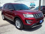 2016 Ruby Red Metallic Tri-Coat Ford Explorer XLT #113614807