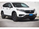 2016 White Diamond Pearl Honda CR-V SE AWD #113614958