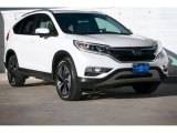 2016 White Diamond Pearl Honda CR-V Touring #113614956