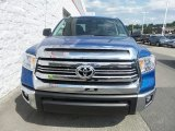 Blazing Blue Pearl Toyota Tundra in 2016
