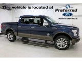 2016 Blue Jeans Ford F150 Lariat SuperCrew 4x4 #113614621