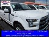 2016 Oxford White Ford F150 Lariat SuperCrew #113650959