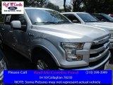 2016 Ingot Silver Ford F150 Lariat SuperCrew 4x4 #113650953