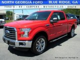 2016 Race Red Ford F150 XLT SuperCab 4x4 #113650874