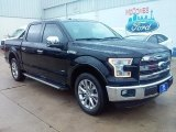 2016 Shadow Black Ford F150 Lariat SuperCrew #113666305
