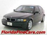 2002 Jet Black BMW 3 Series 325i Sedan #11344159
