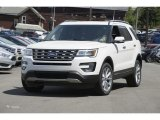 2016 White Platinum Metallic Tri-Coat Ford Explorer Limited 4WD #113670236