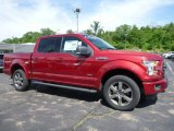2016 Ruby Red Ford F150 XLT SuperCrew 4x4 #113687455