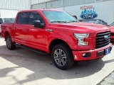 2016 Race Red Ford F150 XLT SuperCrew 4x4 #113687381