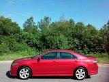 2008 Barcelona Red Metallic Toyota Camry SE #113687299