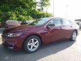 2016 Butte Red Metallic Chevrolet Malibu LS #113687490