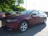 2016 Butte Red Metallic Chevrolet Malibu LS #113687488