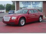 2008 Inferno Red Crystal Pearl Chrysler 300 LX #11346337