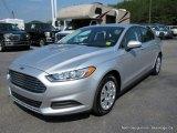 2013 Ingot Silver Metallic Ford Fusion S #113687272