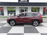 2015 Basque Red Pearl II Honda CR-V Touring #113713538
