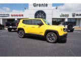 2016 Solar Yellow Jeep Renegade Sport #113713470