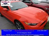 2015 Competition Orange Ford Mustang V6 Coupe #113713334