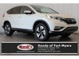2016 White Diamond Pearl Honda CR-V Touring #113713288