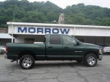 2002 Forest Green Pearlcoat Dodge Ram 1500 SLT Quad Cab 4x4 #11345154