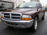 2004 Deep Molten Red Pearl Dodge Dakota SLT Quad Cab #11355655