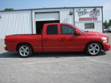 2007 Flame Red Dodge Ram 1500 SLT Quad Cab #11351374