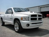 2003 Bright White Dodge Ram 1500 Laramie Quad Cab 4x4 #11351378