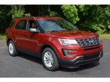 2016 Ruby Red Metallic Tri-Coat Ford Explorer FWD #113742871