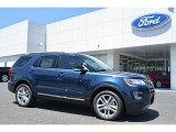 2016 Blue Jeans Metallic Ford Explorer XLT 4WD #113742779
