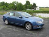 2010 Sport Blue Metallic Ford Fusion SEL V6 #11354764