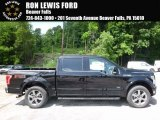 2016 Shadow Black Ford F150 Lariat SuperCrew 4x4 #113768563