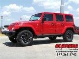 2016 Firecracker Red Jeep Wrangler Unlimited Rubicon Hard Rock 4x4 #113768625