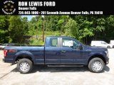 2016 Blue Jeans Ford F150 XL SuperCab 4x4 #113768560