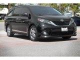 2015 Attitude Black Toyota Sienna SE #113803545