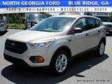 2017 White Gold Ford Escape S #113803425